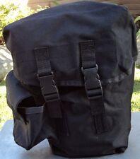 Tactical Gas Mask Carrier Drop Leg Pouch (Respirators Carry Bag) Black BRAND NEW
