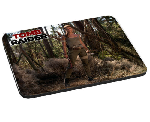 5mm Thick Rectangle Mouse Mat//Pad LONG LASTING 5MM THICK Lara Croft Tomb Raider