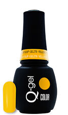 QRS Beauty Nail Lacquer GEL 278 Yellow Tulip