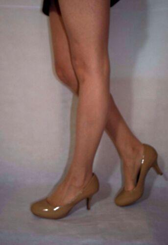pelle 6 da 5 vernice Scarpe in Taglia donna Madden eleganti vera Steve in beige pAxq8