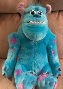 Sulley monsters inc plush doll talking 12 stuffed animal image is loading sulley monsters inc plush doll talking 12 034 voltagebd Image collections