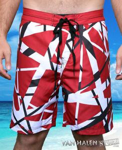 0792afad2d4 Eddie Van Halen Board Shorts - Foo Fighters Taylor Hawkins NEW ...