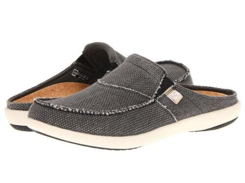 Men Spenco Siesta Slide Charcoal Grey Total Support Size 7,8,9,10,11,12,13,14