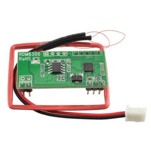 RDM630 RDM6300 UART 125KHZ EM4100 RFID Card Key ID Reader Module for Arduino