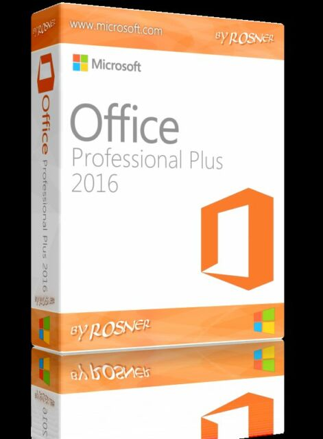 Microsoft Office 2016 Pro Plus - Licencia Original 1 Pc