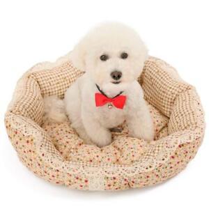 Speedy Pet Bed Chien Lit Chat Lit Canapé 3 Tailles Fleur Motif # 9-11