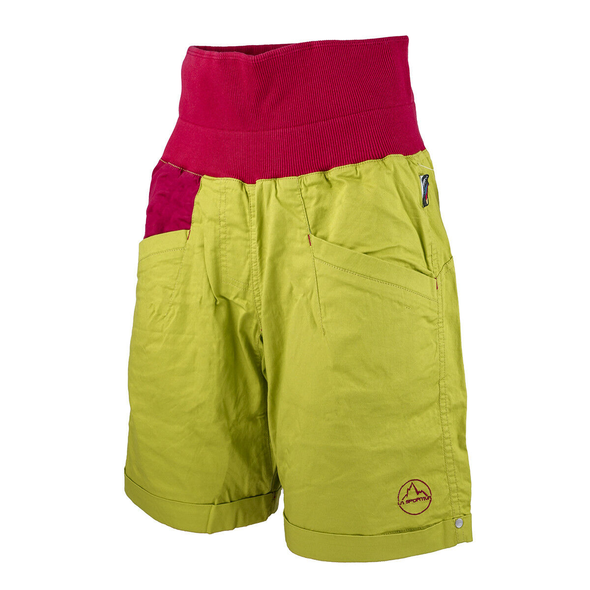 La Sportiva Women Ramp Short (S) Citronelle   Berry