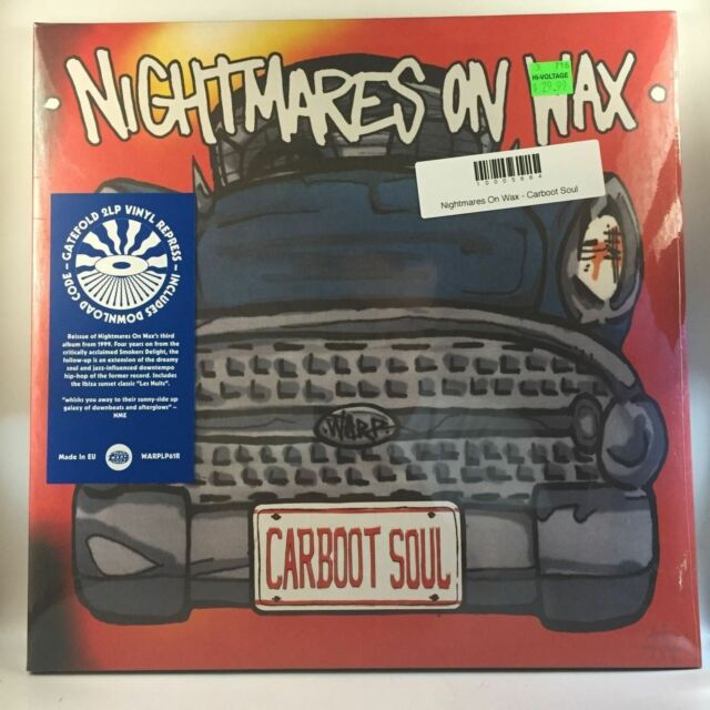 Nightmares On Wax - Carboot Soul 2LP NEW