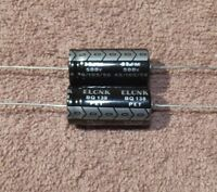 33uf / 33mfd - 500v - Axial Electrolytic Capacitor - 2 Pieces