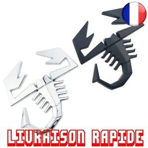 3D-Scorpion-Badge-Autocollant-Voiture-Hayon-Embleme-Arriere-FIAT-ABARTH-Alfa-Car