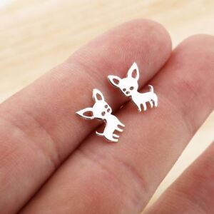 Chihuahua-Earrings-for-Women-Cute-Dog-Studs-Chihuahua-Jewelry-Love-my-Pet-Jewelr