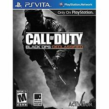 Call of Duty: Black Ops Declassified (Sony PlayStation Vita, 2012)