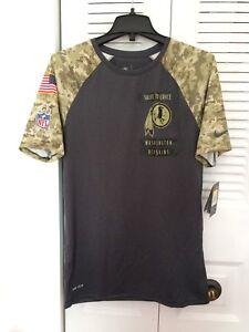 New Men s NIKE WASHINGTON REDSKINS SALUTE TO SERVICE Raglan T-Shirt ... 9729a2c04