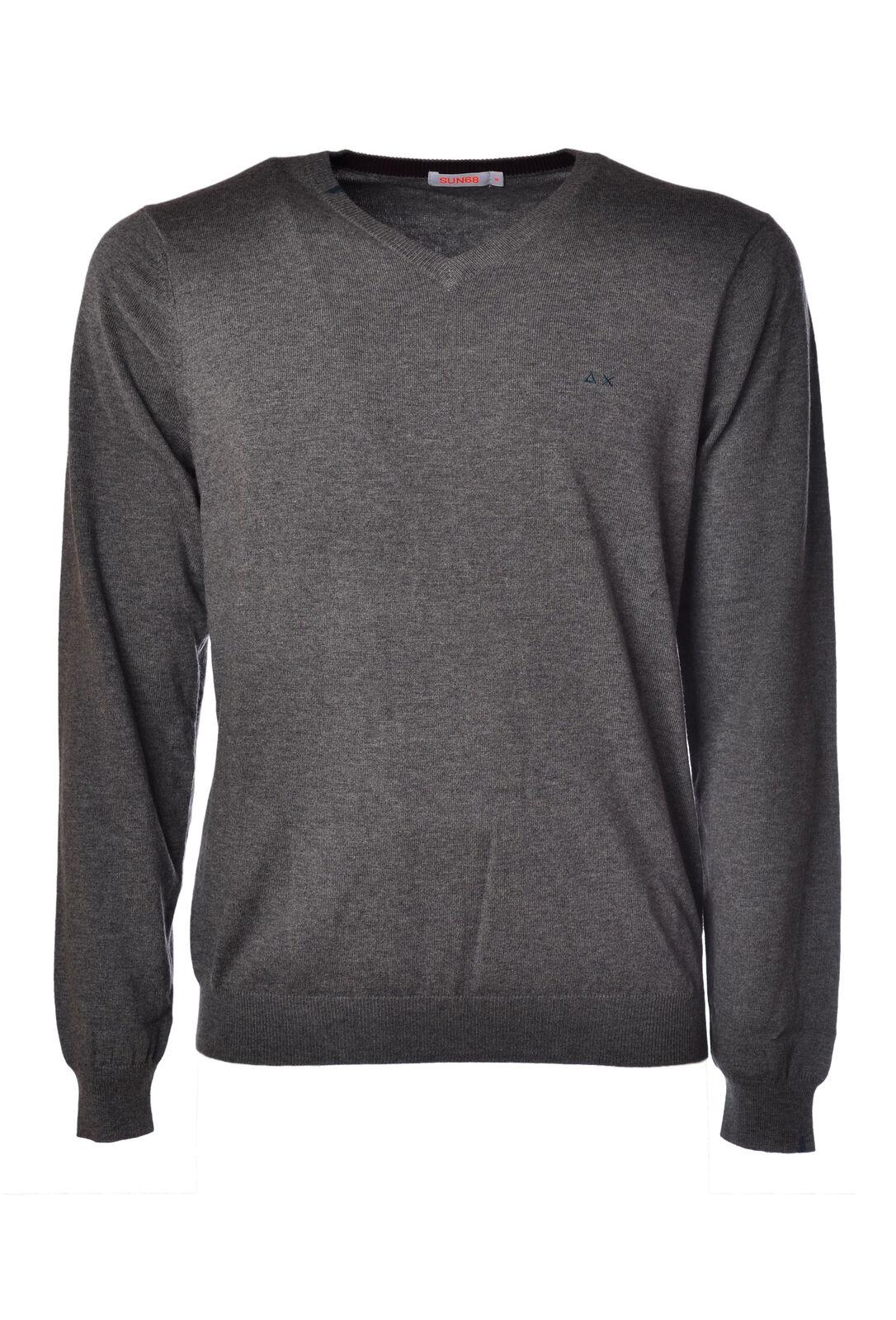 Sun 68 - Knitwear-Sweaters - Man - Grey - 922718C182122