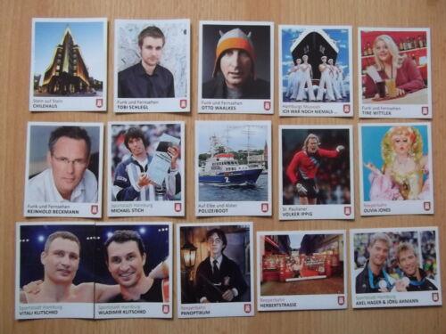 Panini Hamburg sammelt Hamburg Serie 1-30  Sticker  aussuchen Neu