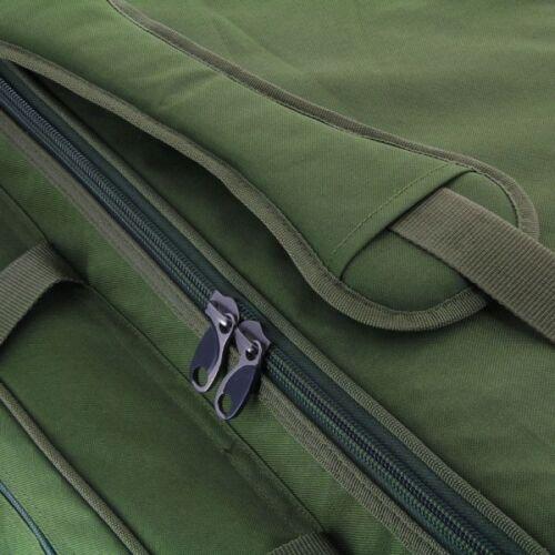 Xxl géant vert pêche à la carpe fourre-tout tackle holdall barrow sac de ngt 093L