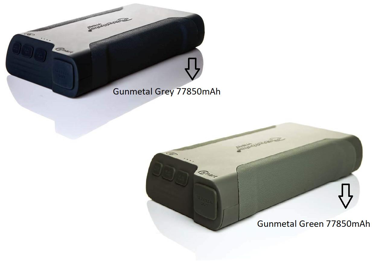 Ridgemonkey Tresor C-Smart Powerpack Powerbank oder 16b Sonnenkollektor Alle