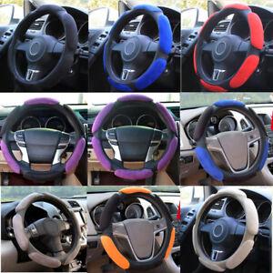 Brand New Premium Soft Memory Foam Car Truck Black Steering Wheel Cover