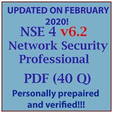 Fortinet Certified Network Security Administrator FCNSA V5 Exam Test QA PDF/&SIM