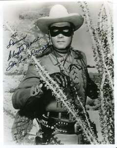 CLAYTON-MOORE-PSA-DNA-COA-Hand-Signed-8x10-Photo-Autograph-Authentic-ID-45929
