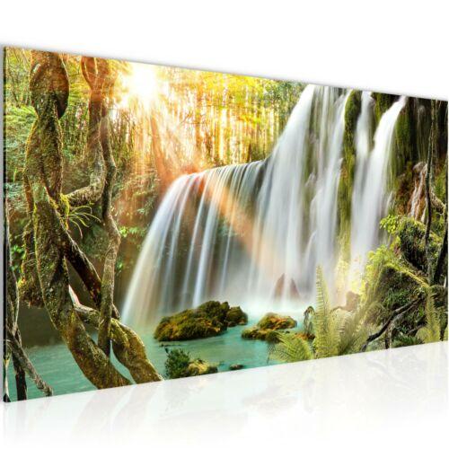 WANDBILDER XXL BILDER Wasserfall Landschaft VLIES LEINWAND BILD KUNSTDRUCK 01261