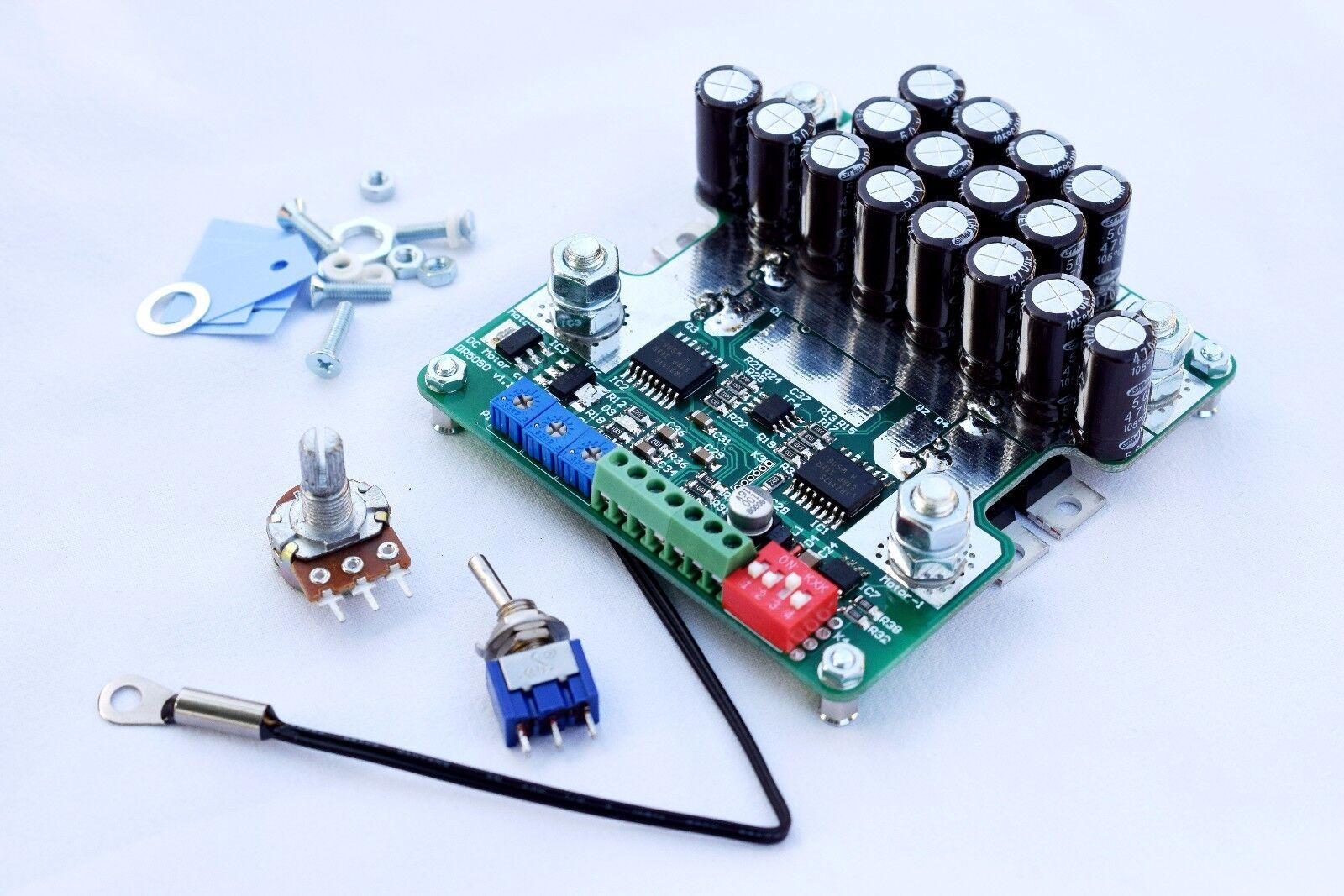 300A 10-50V 12V 24V DC motor PWM Drehzahlregler Kontroller Speed  Bremsung