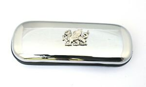 Welsh Dragon Spectacle Glasses Pen Case FREE ENGRAVING Welsh Gifts
