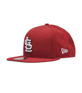 6bea787d0 St. Louis Cardinals Red New Era 9FIFTY MLB Throwback Vintage Retro ...