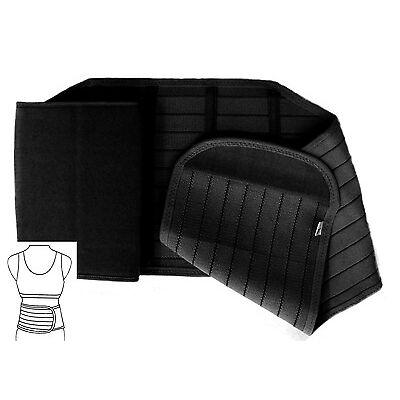 Rückenbandage Rückenstütze Rückengurt Bauchweggürtel Übergrößen bis 130 cm 4S