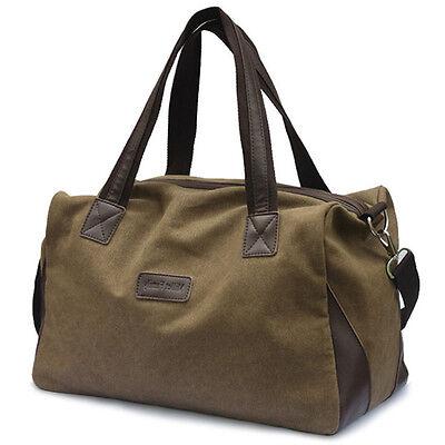 30L Travel Luggage Shoulder Bag Weekend Bag Overnight Gym Bag Handbag DUFFLE BAG