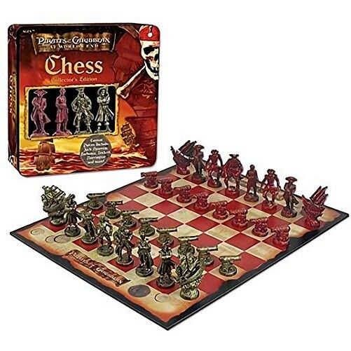 PIRATES OF THE CARIBBEAN CHESS SET USAOPOLY NEW SEALED