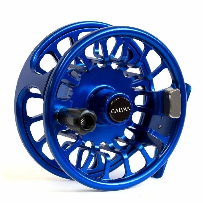 Galvan Torque T-10 Fly Reel - Color Blue - NEW - FREE FLY LINE