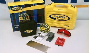 Spectra-Precision-LP50-Interior-Laser-Level-5-Beam-Point-Generator-Carrying-Case