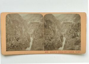 Rochers-dellascala-vicino-a-St-Saviour-Fotografia-Stereo-Vintage-Albumina-c1870
