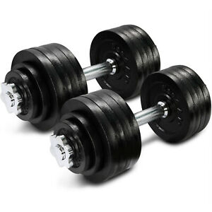 52-Lbs-Adjustable-Dumbbells-Pair-Total-105-Lbs-Hand-Weights-Home-Gym-Exercise