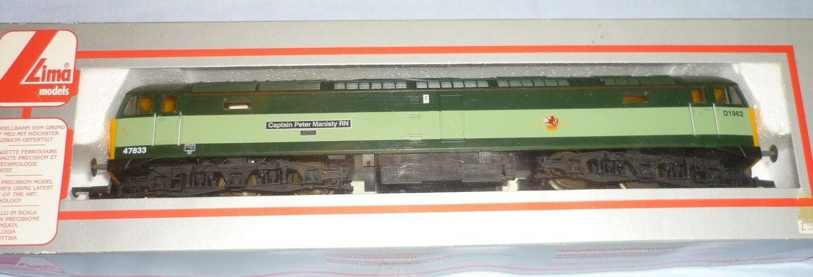 LIMA OO GAUGE BR classe 47  DIESEL CoCo LOCO 47833D1962 L205089 scatolaED LIMIT EDt