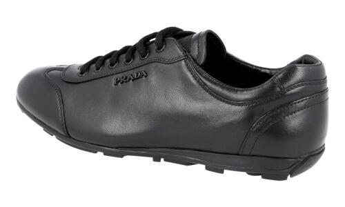 Neu Sneaker Luxus Schuhe 3e4900 Schwarz Prada 5 37 38 New XrX5qxp