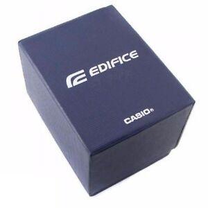 Casio Edifice Blue Display Box Presentation Storage Original New