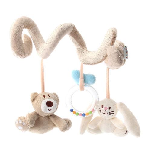 Plüsch Spielzeug Spirale Einschlafhilfe für Kinderbett Kinderwagen Baby