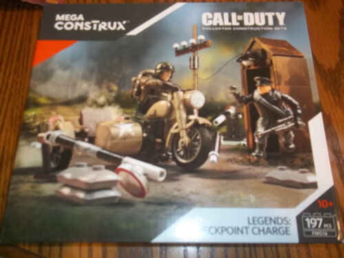 Call of Duty Legends Checkpoint Charge   pcs  Mega Bloks New FMG19