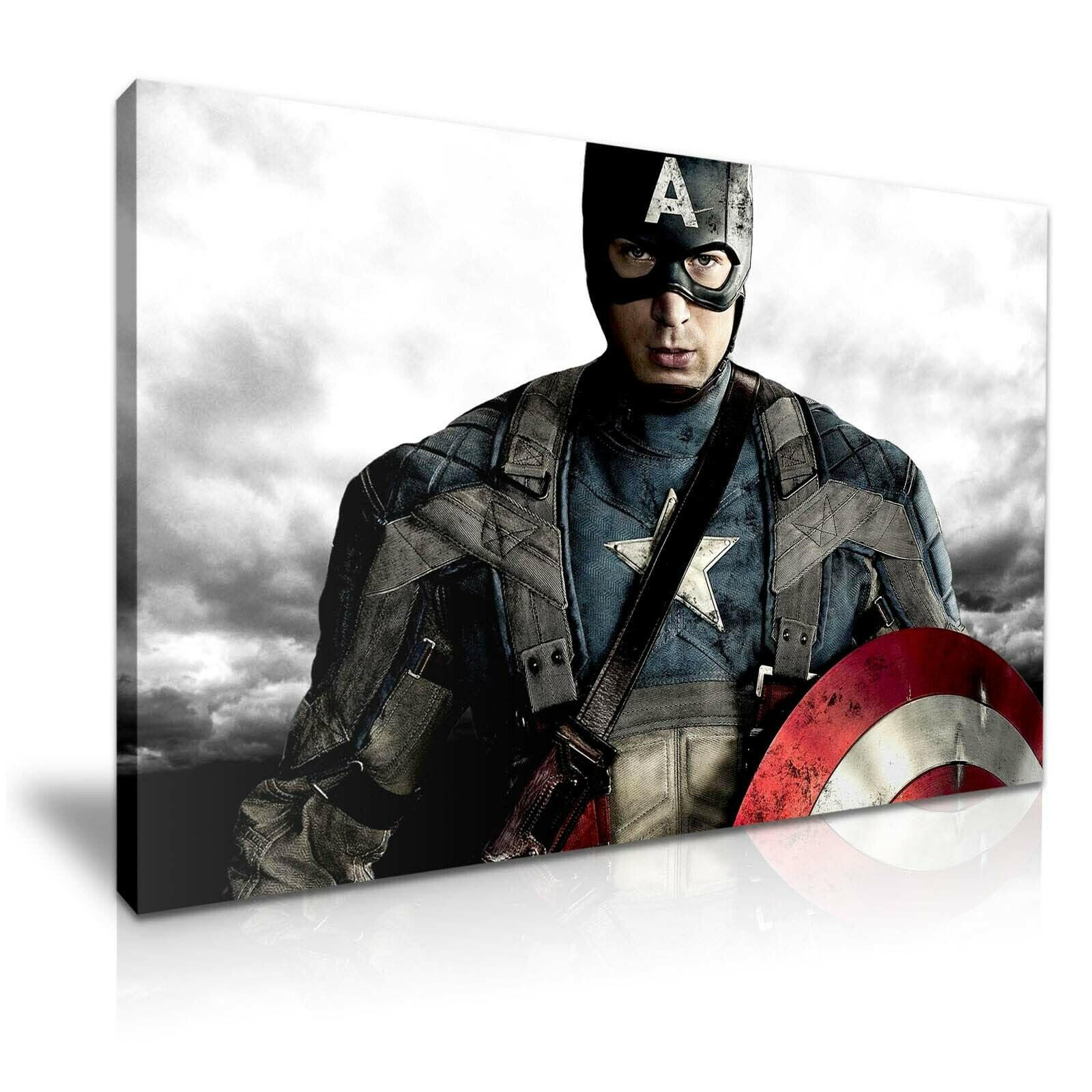 Avengers Captain America Stretched Canvas  More Größe