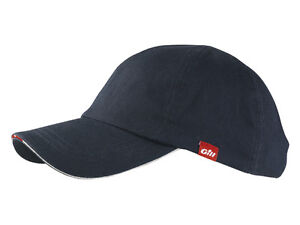 77e980732b6 Image is loading Gill-Sailing-Cap-Brushed-Cotton-6-panel-design-
