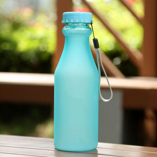 Unbreakable BPA Free 500ml Water Bottle Leak-Proof Sports Cycling Bottle