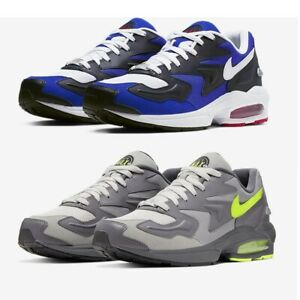 Nike-Air-Max-2-Light-Men-039-s-Shoes-Lifestyle-Comfy-Sneakers