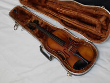 KARL HOFNER Violin with HARD SHELL CASE - Used - Made in GERMANY