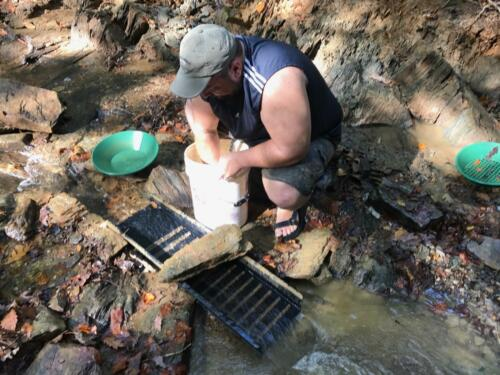 SCREAMING EAGLE GOLD PANNING PAYDIRT **Veteran owned and operated gold company**