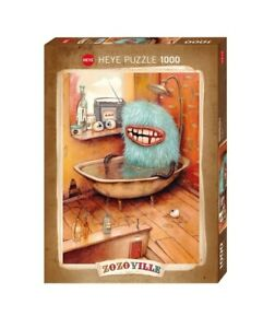 (HY29539) - Heye Puzzles - 1000 Pc - Bathtub