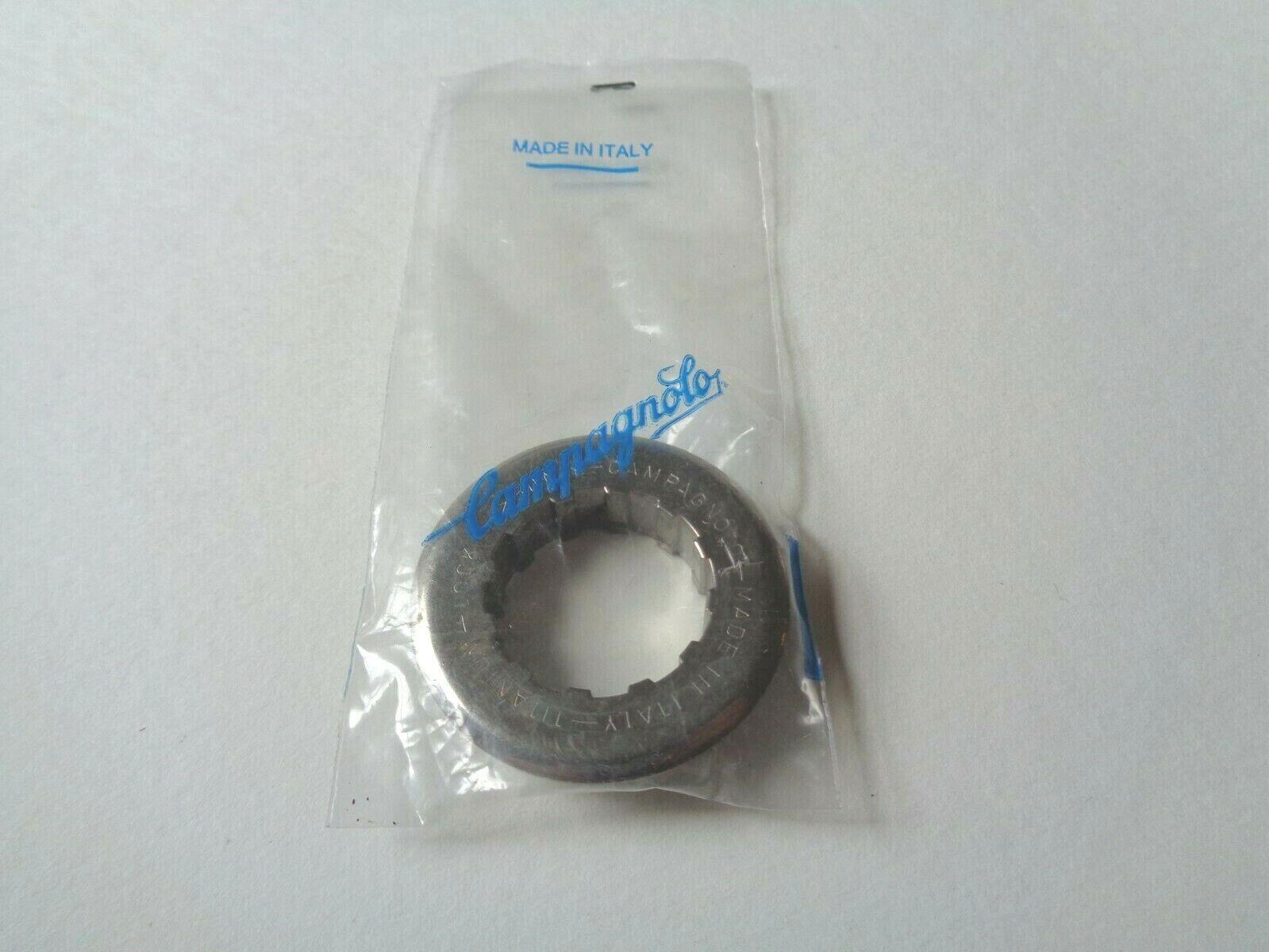 NOS Vintage 1990s Campagnolo Record Titanium cassette lock-ring