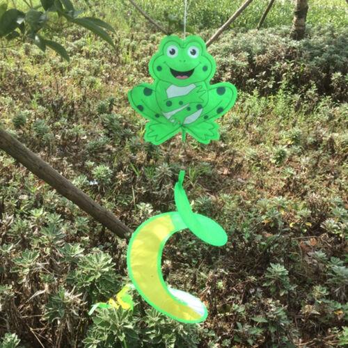 1x Animal Spiral Windmill Colorful Wind Spinner Lawn Garden Yard Outdoor Decor~~