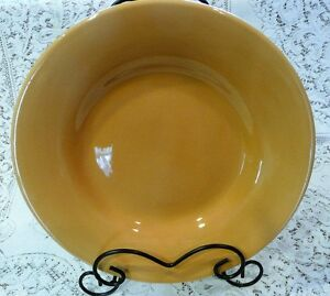 Pottery Barn Sausalito Amber 12 Quot X 2 Quot Dinner Plate Pasta